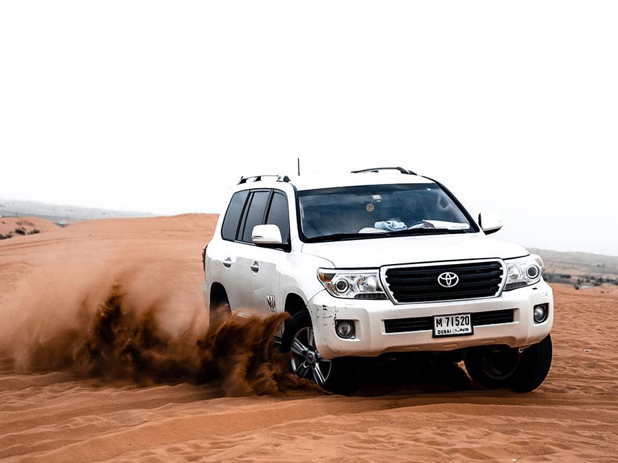 Top 5 Vehicles Used for Desert Safari in Dubai
