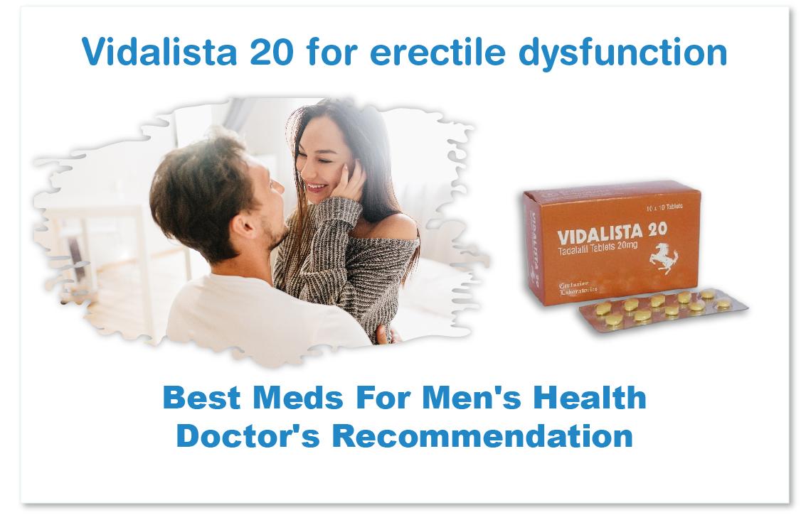 Vidalista 20 mg   Tadalafil 20 mg   Uses   Warning   Storage   Reviews